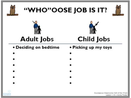 Lesson 20: Adult Job