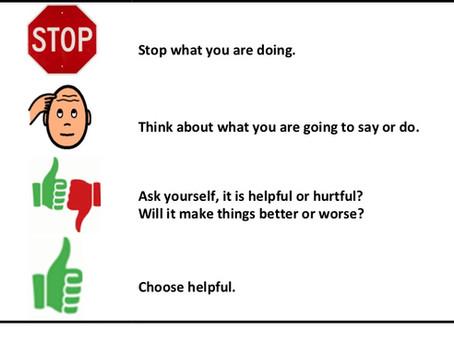 Week 3, Lesson 13: Helpful or Hurtful?