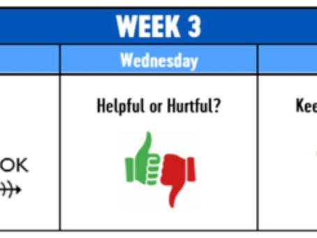 Week 3, Lesson 12: Handling Limits/Saying OK