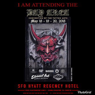 May 18-20, 2018 Bay Area Tattoo Convention