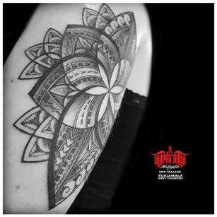 Polynesian Mandala by Andy