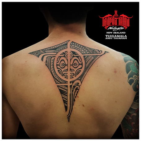 Polynesian tattoo by Andy