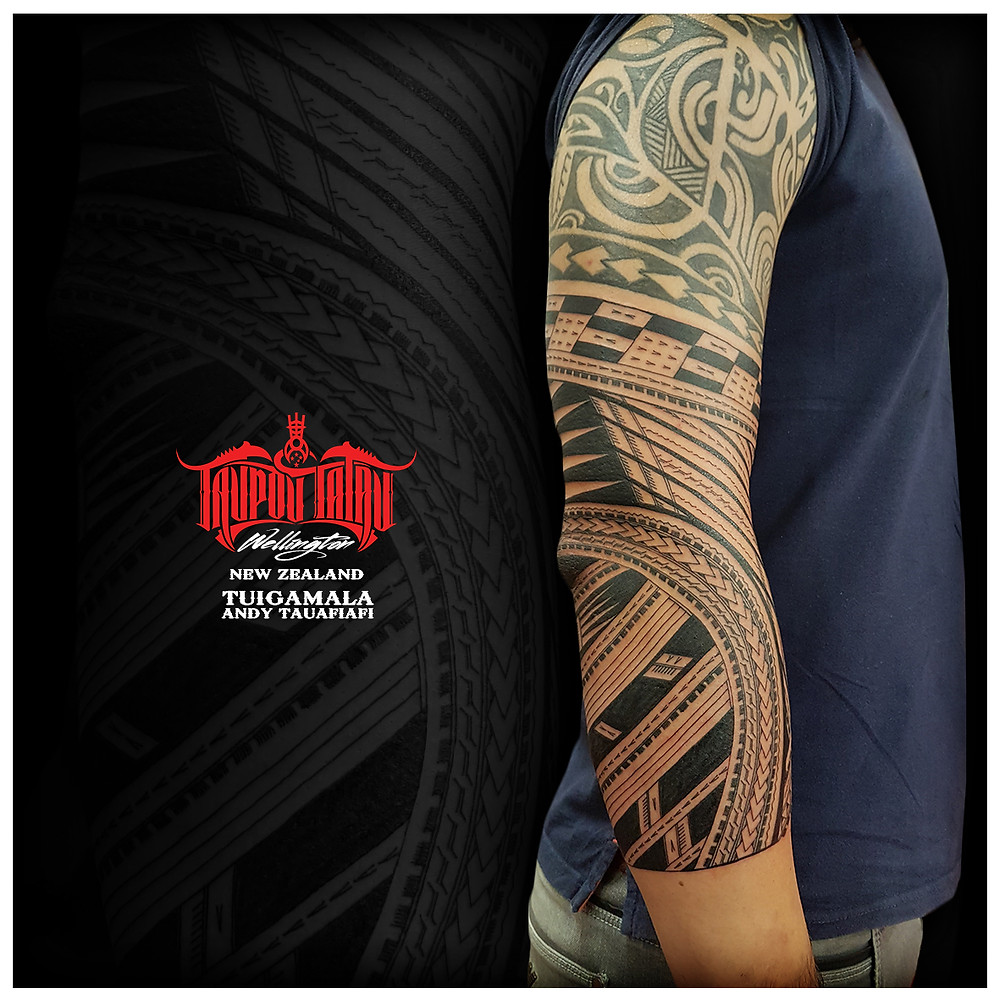 Samoan sleeve addition done