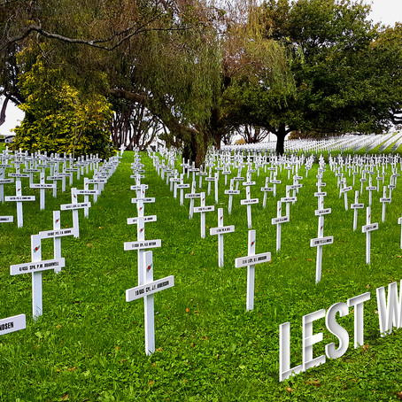 Anzac 2017 - Lest We Forget