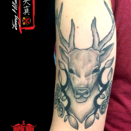 Animal tattoo by Jonny