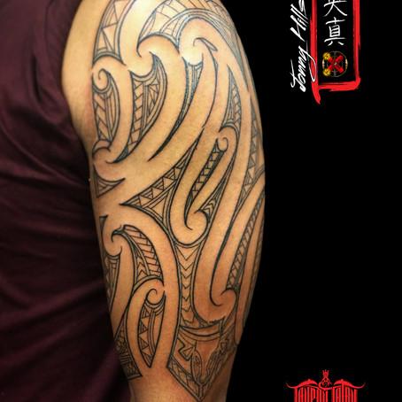 Maori tattoo by Jonny