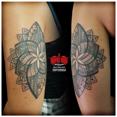 Polynesian Mandala tattoo by Andy