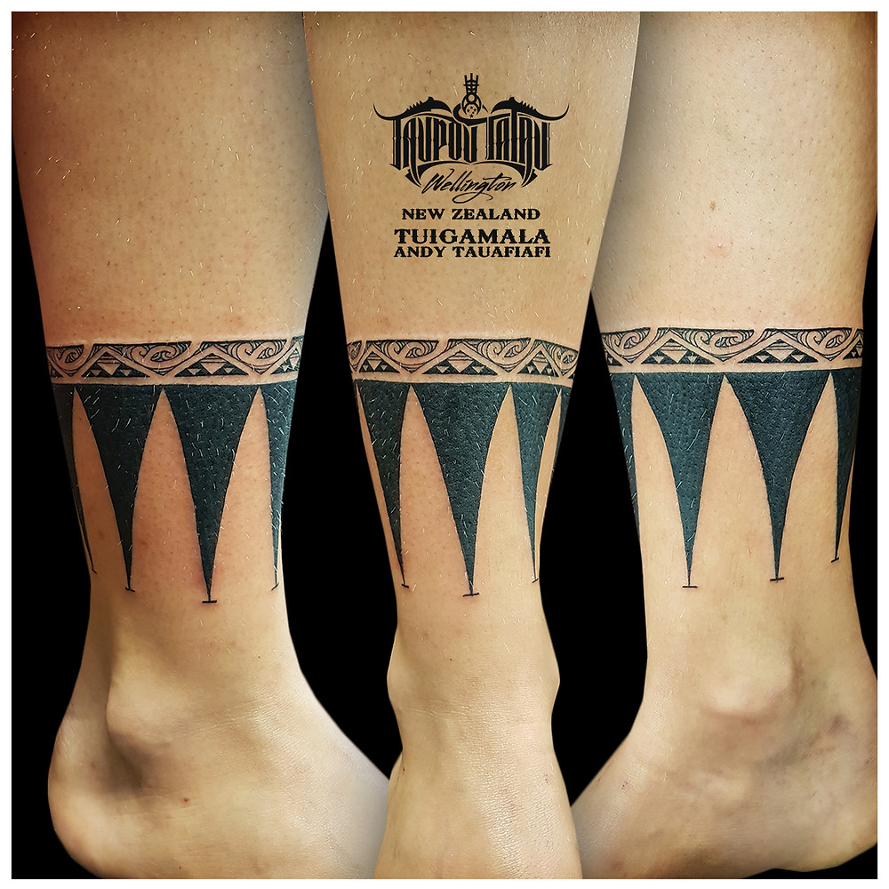Maori Ankle Tattoo by Andy