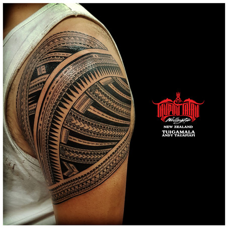 Samoan tattoo by Andy