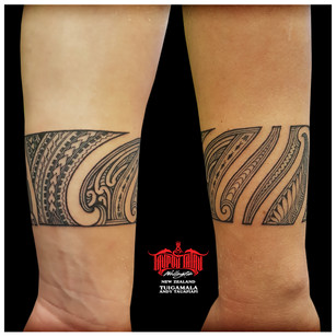 Samoan Maori tattoo by Andy