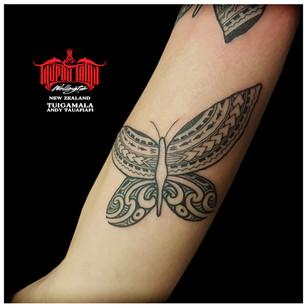 Samoan, Maori tattoo by Andy.