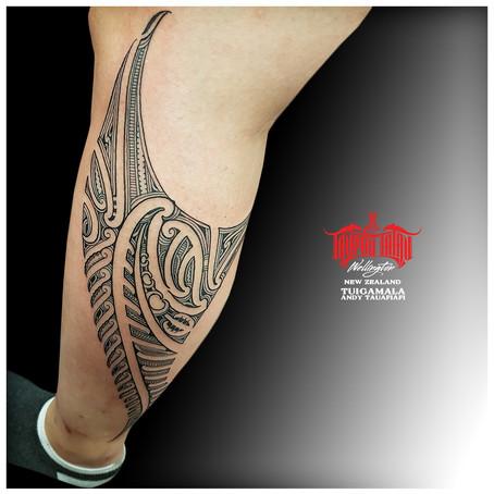 Maori tattoo by Andy