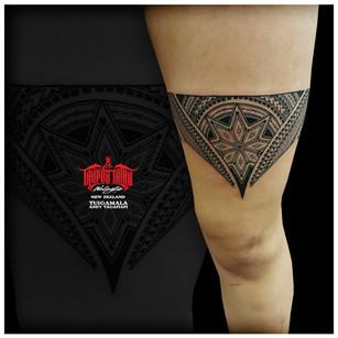 Samoan tattoo by Andy