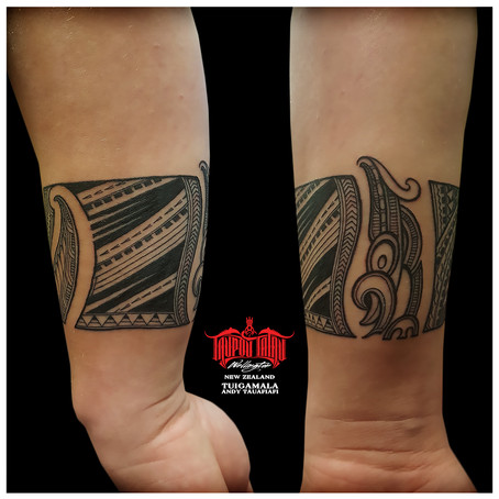 Samoan Maori tattoo by Andy