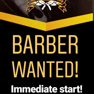 BARBER NEEDED! Spread the word!