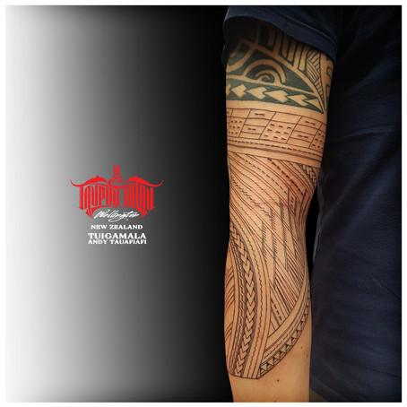 Samoan Sleeve Tattoo by Andy