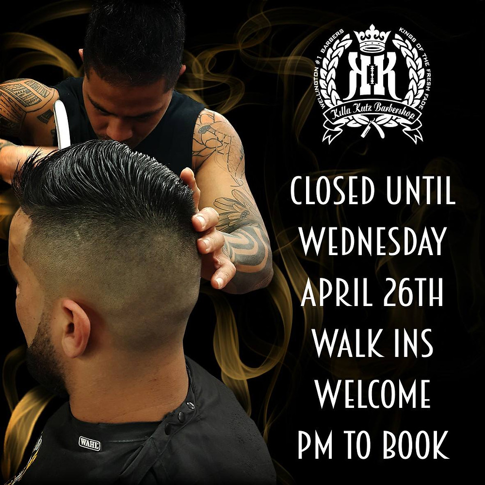 Killa Kutz Barbershop Wellington