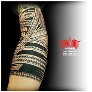 Samoan Sleeve addition by Andy