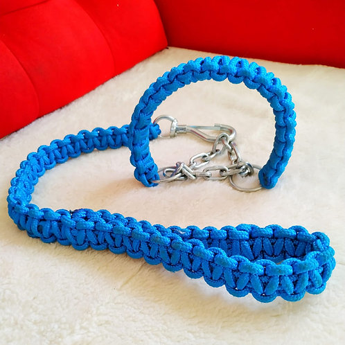 Coleira de corda artesanal  DPK