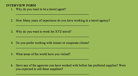 Effective HR at a Travel Agency (HR)