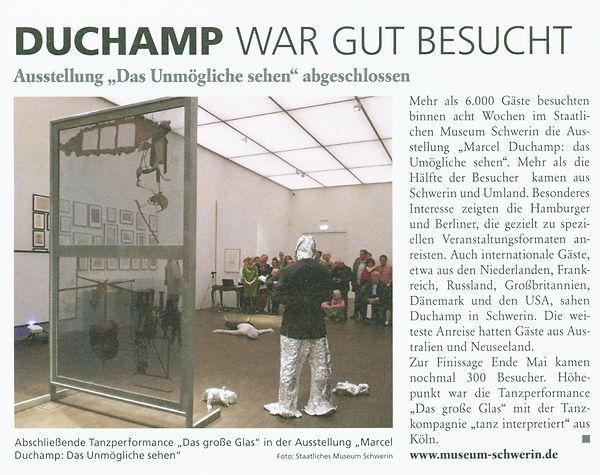 Artikel aus der Zeitschrifit Schwerin li