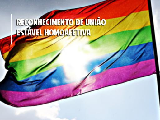 Reconhecimento de união estável homoafetiva