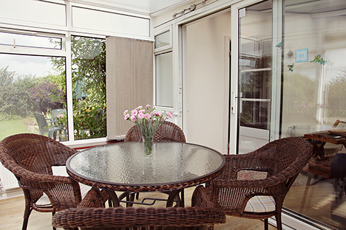 conservatory at No.7 @The Mede