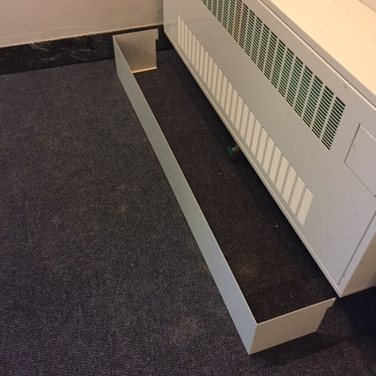 Cabinet Unit Heater Custom Pipe Enclosure