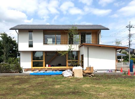 9/14・15・16(土日祝)小金井の家オープンハウスに向けて最終仕上げ。