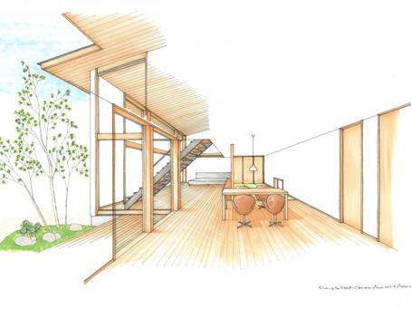 福島県須賀川市で住宅の現場が始まります