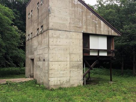 宮脇檀さん設計 福村別邸。見学させていただきました。