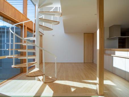 山梨県で建築予定の住宅の打合せへ。