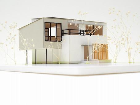 スキップフロアのツムハコ。立木の家プレゼンテーション。