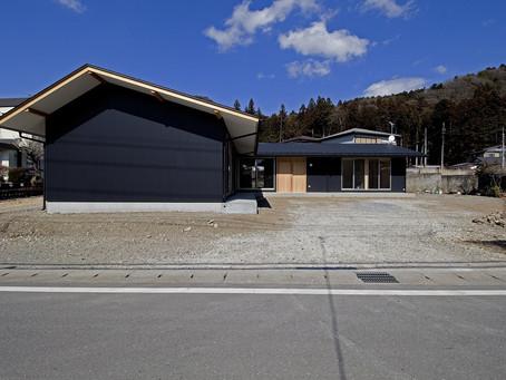 二世帯住宅の平屋「tak-tok」竣工写真ちょこっとお披露目。