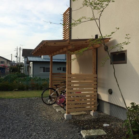自転車 置き場 diy