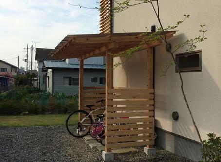 DIY!木製!サイクルポート!図面付き!!!