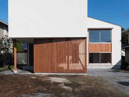 中岡本の家「skip floor」竣工写真UPしました。