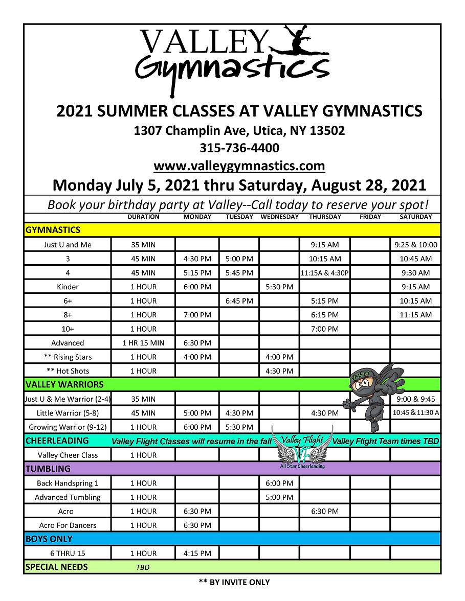 FINAL 2021 Summer Schedule Valley.jpg