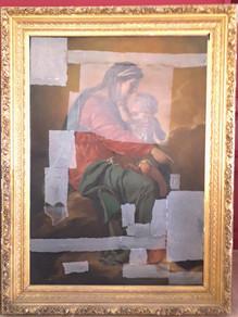 Transport de deux tableaux d'église