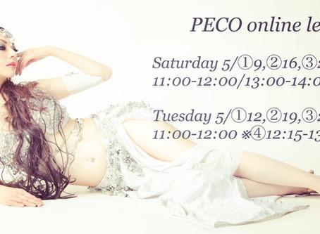 【PECO online lesson 】