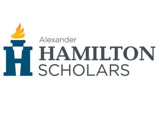 Student Council President, Brandon Lopez has been named an Alexander Hamilton Scholar