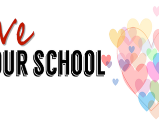 February is Love Your School Month