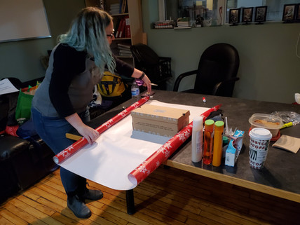 Karyn wrapping with precision