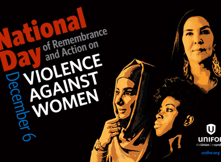 Statement on the National Day of Remembrance and Action on Violence against Women