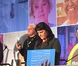 Kat Leonard at the woman's conferenc