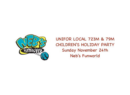 723m & 79m Children's Holiday Party