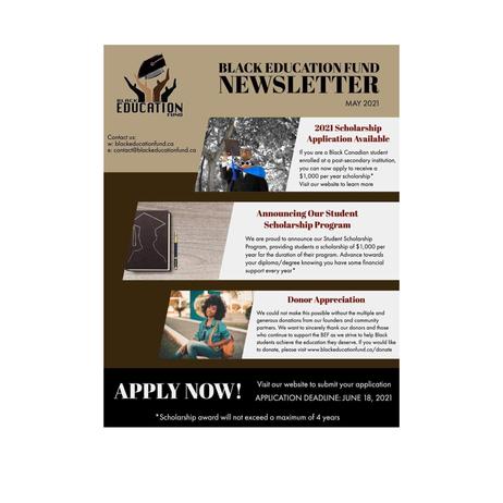 Black Education Fund Newsletter