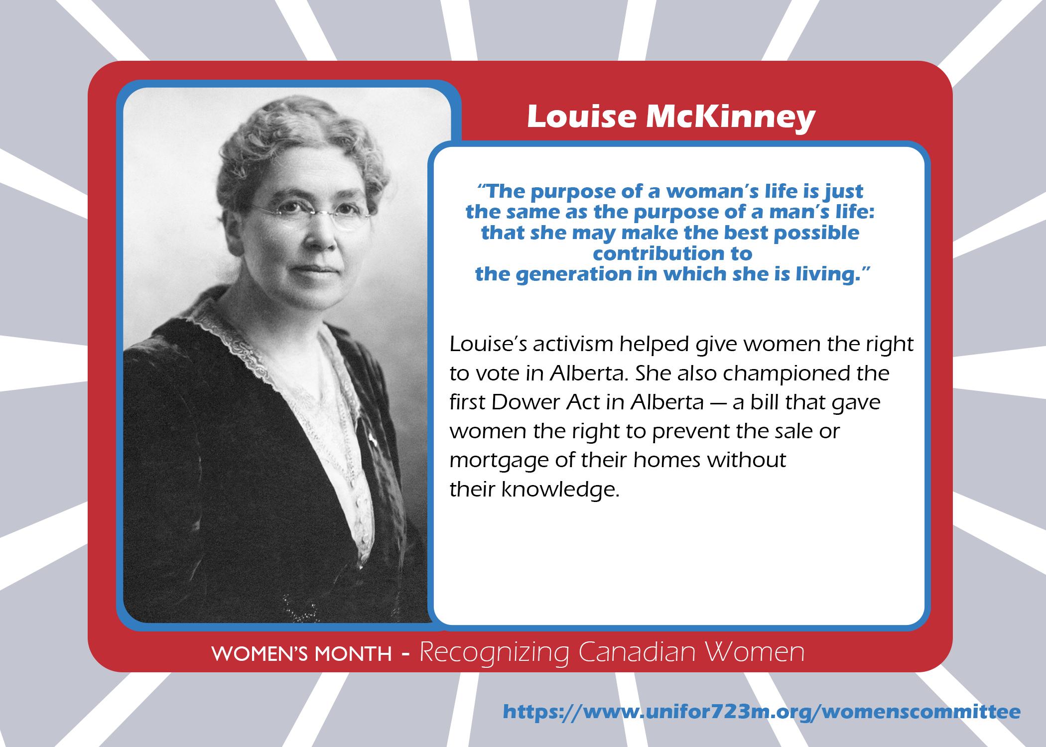 Louise McKinney