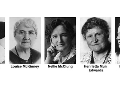 Women's History Month, Famous Five