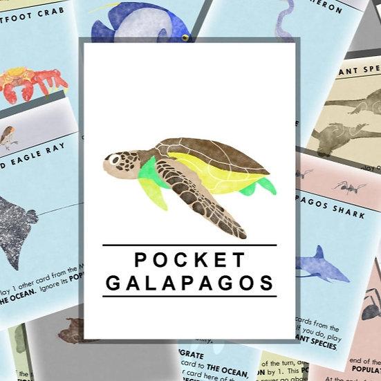Pocket Galapagos.  Print and Play.
